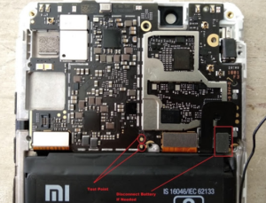 Test Point Xiaomi Redmi Note 5