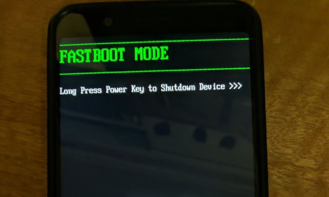 Asus Zenfone Max Pro M1 Fastboot