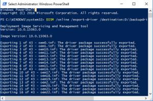 Backup Driver Windows Tanpa Software