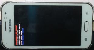 Cara Flashing Samsung J1 Ace SM-J110G via Odin