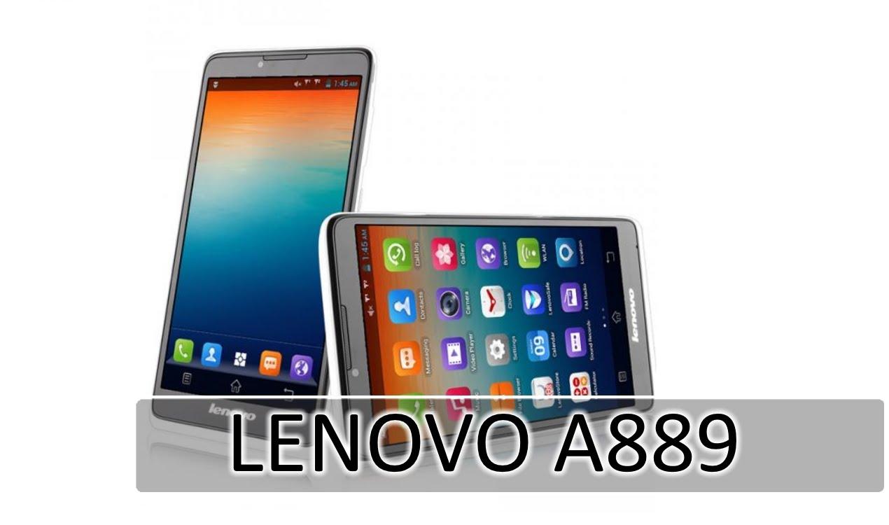 Cara Hard Reset Lenovo A889