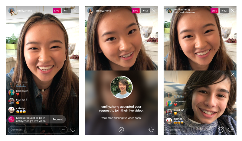 Cara Video Call dan Group Video Call di Instagram