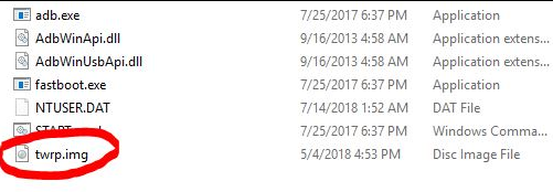 Install TWRP ASUS Zenfone Max PRO M1