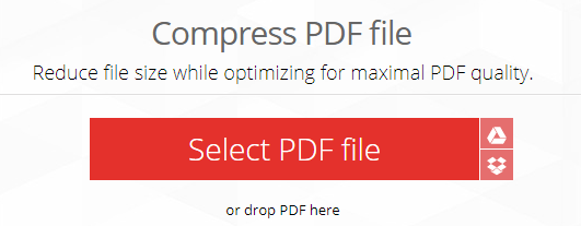 Memperkecil File PDF Menggunakan ILovePDF (Online)