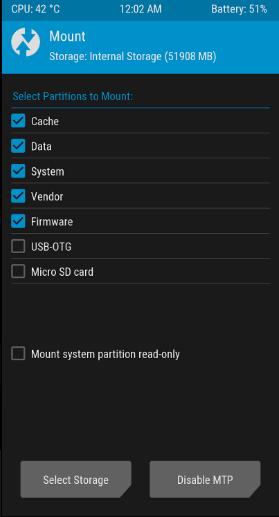 TWRP Asus Zenfone Max Pro