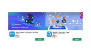 Xiaomi Mi Drop vs SHAREit