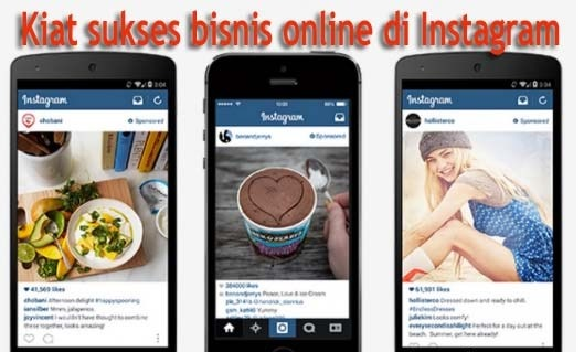 Bisnis Online Dengan Instagram, Cara Menghasilkan Uang di Internet