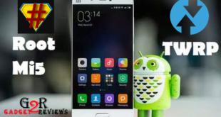 Cara Install TWRP Xiaomi Mi5 (gemini) dan Update ROM MIUI 10