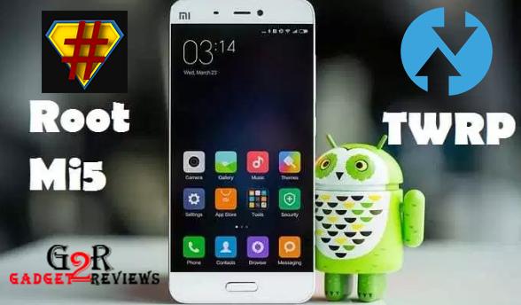 Cara Install TWRP Xiaomi Mi 5 (gemini) dan Update ROM MIUI 10