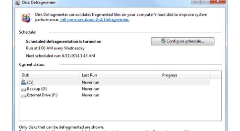 Cara Menjalankan Defragment HardDrive di Windows 10