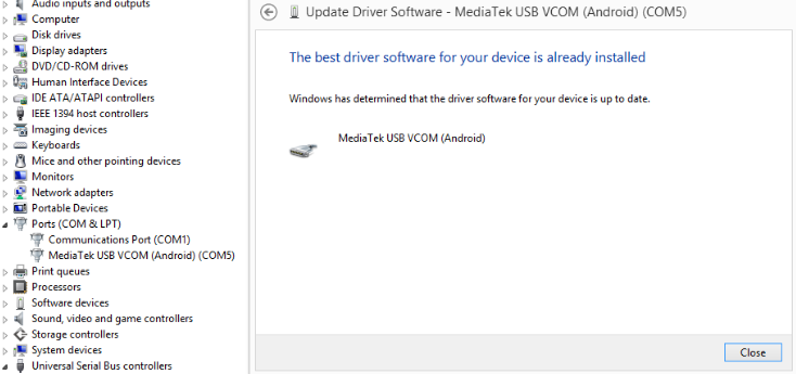 Mediatek USB VCom