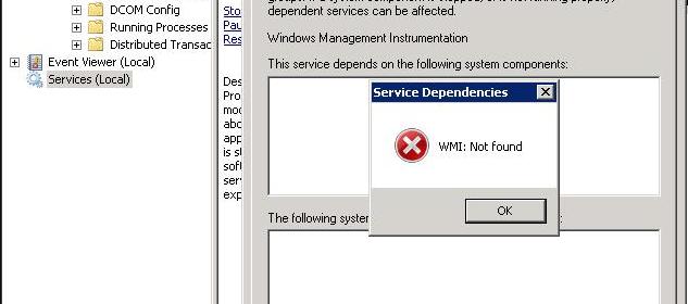 Panduan Mengatasi Error WMI Service Pada Windows