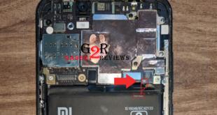 Posisi Test Point Xiaomi Mi 6X