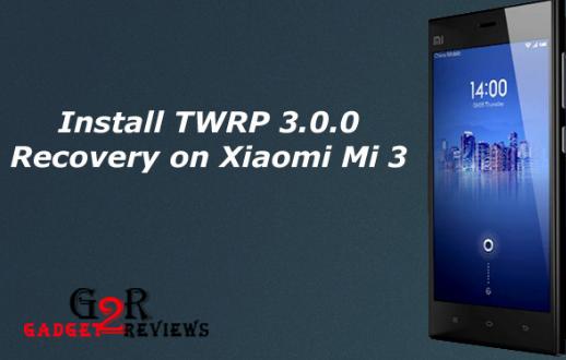 Tutorial Cara Root dan Install TWRP Xiaomi Mi 3 (Cancro)