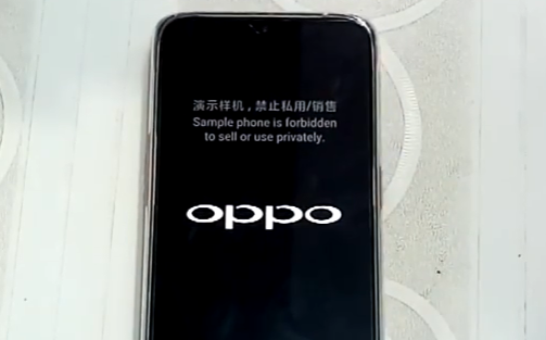 Cara Flashing ROM / Firmware OPPO F9 (CPH1823) Tanpa PC