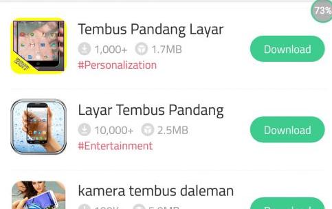 Cara Download Aplikasi Kamera Tembus Pandang Untuk Android
