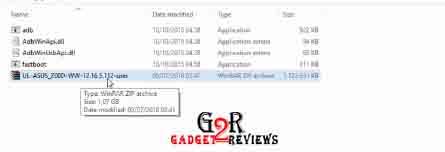 Cara Flash Asus ZenFone 3 Z012D ZE522KL via Sideload
