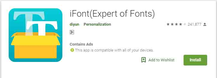Cara Ganti Font Samsung J5 Dengan Aplikasi