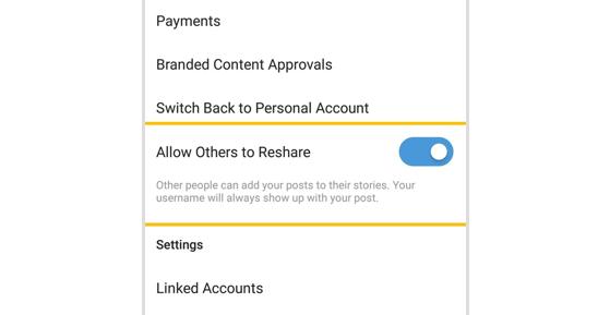 Cara Mencegah Postingan Instagram di Posting Ulang Ke Stories