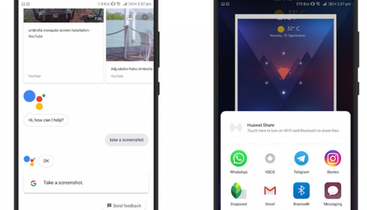 Cara Mengambil Screenshot HP Menggunakan Google Assistant