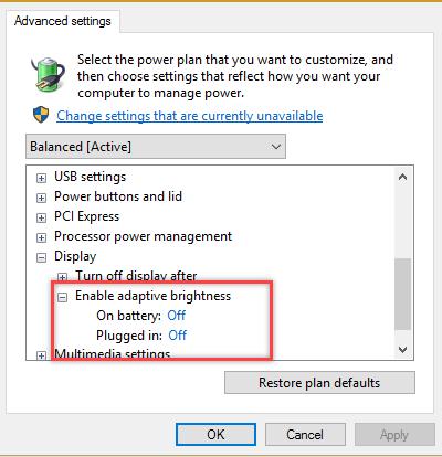 Cara Menonaktifkan Auto Brightness di Windows 10 Dengan Mudah
