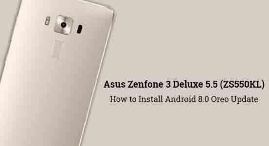 Koleksi Firmware Asus ZenFone 3 Deluxe Z018 ZS550KL