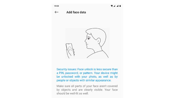 Mengaktifkan Face Unlock Redmi 5 Plus