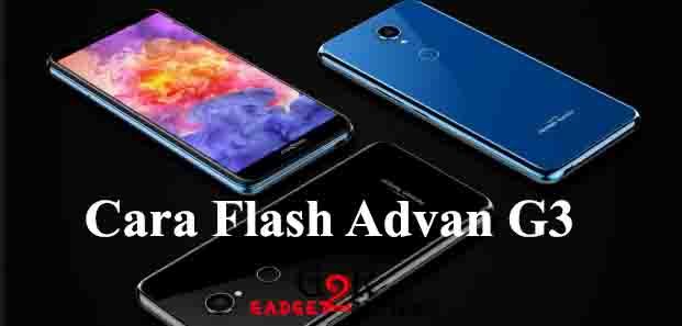 Cara Flash Advan G3 Dengan SP Flashtool