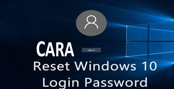 cara membuka laptop yang lupa password windows 10
