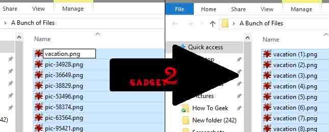 Cara Mengganti Nama File Sekaligus Banyak Secara Bersamaan