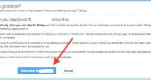 Cara Menghapus Akun Twitter Secara Permanen Dengan Mudah