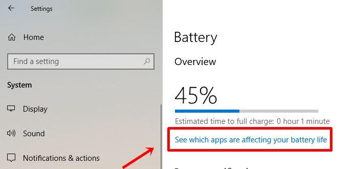 Cara Mudah Mengetahui Aplikasi Penyebab Boros Baterai di Windows 10