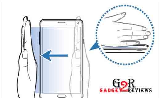 Cara Screenshot Samsung J6 Plus Menggunakan Fitur Palm Swipe to Capture
