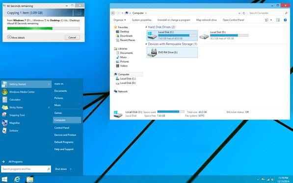 Cara Install Tema dan Wallpaper Windows 10 di Komputer Windows 7