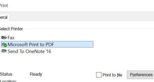 Cara Mengubah Gambar ke PDF di Windows 10 Tanpa Aplikasi