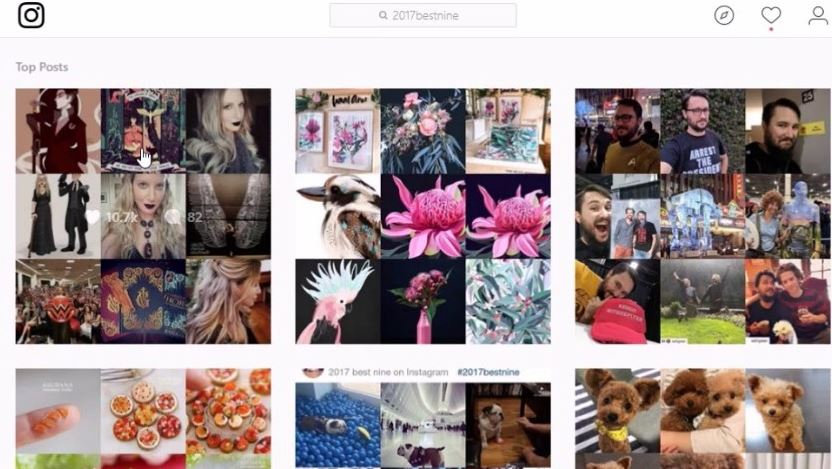 Cara Membuat Best Nine 2018 di Instagram Dengan Mudah