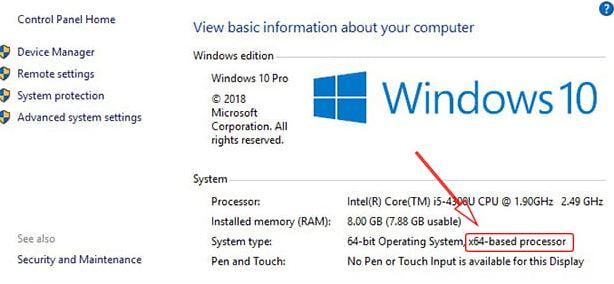 Cara Mengetahui Bit CPU Laptop di Windows