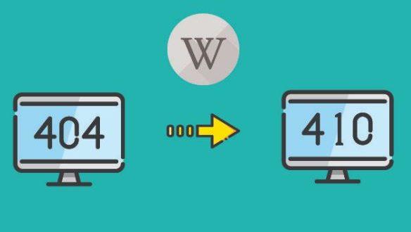 Arti Dari Kode Error 410 di Google Webmaster Console dan Bedanya Dengan Kode Error 404
