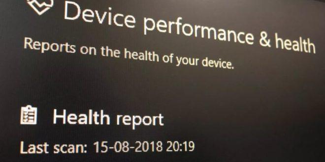 Cara Mengetahui Kesehatan Laptop di Windows 10 Melalui Device Performance & health