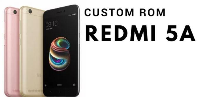 Download Koleksi Custom ROM Redmi 5A Terbaru