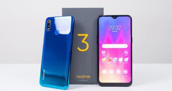 Spesifikasi Realme 3, Ponsel Berponi Dengan Harga 1 Jutaan