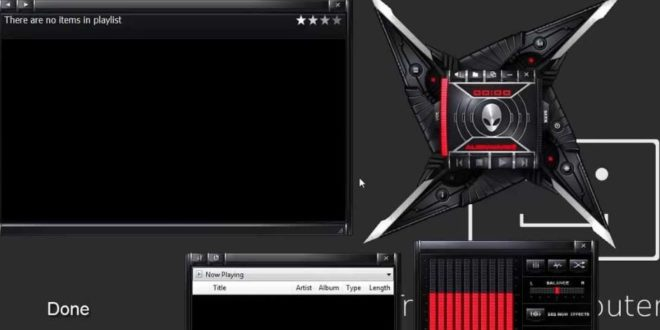 5 Skin Windows Media Player 12 Terbaru