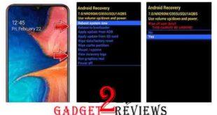 Cara Hard Reset Samsung Galaxy A20 Melalui Recovery Mode