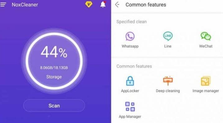 Review Aplikasi Pembersih Sampah Android Terbaik, NoxCleaner