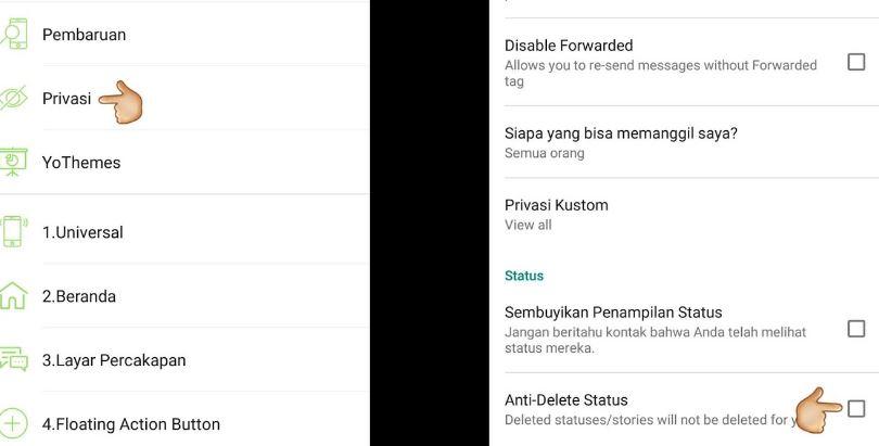 Cara Melihat Status Whatsapp yang Sudah Dihapus Pemiliknya