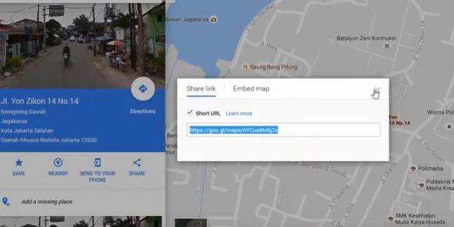 Cara Scan Barcode Google Maps di Undangan