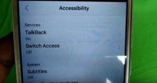 Cara Menonaktifkan Fitur TalkBack di HP VIVO