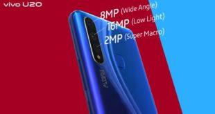 Harga dan Spesifikasi Vivo U20 Ponsel Gaming Terbaru