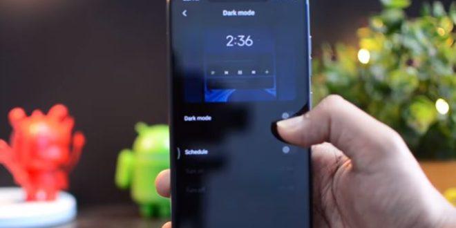 Cara Mengaktifkan Mode Gelap Xiaomi( Dark Mode )di MIUI 11