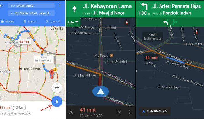 Cara Menggunakan Google Maps Offline Tanpa Koneksi Internet